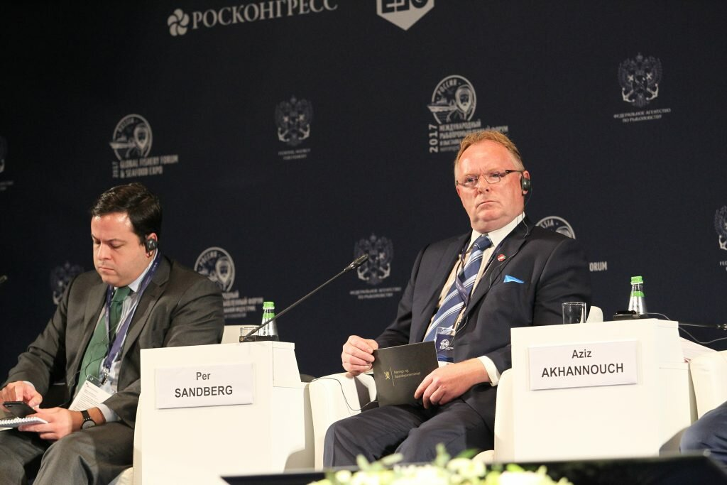 Fishery Forum in St. Petersburg: How to feed 9 billion people
